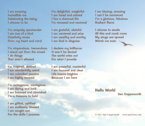 ... or Download a free printable 8 x 10 pdf image of this Hello World poem