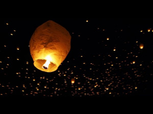 Floating Lantern Festival In Colorado Backed By An Inspirational Quote ...