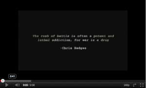 Analysis of the opening scene of The Hurt Locker
