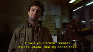 the taxi driver #robert de niro #Martin Scorsese #film #movie quotes