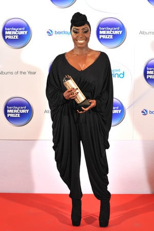 Laura Mvula arriving at the Barclaycard Mercury Music Prize ceremony