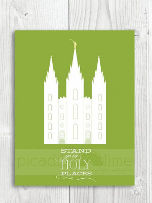 Stand in Holy Places Temple LDS Young Women by ... Remeber to also ...