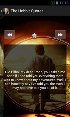 The Hobbit Quotes SCREENSHOTS