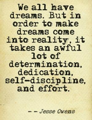 Jesse Owens Determination 500
