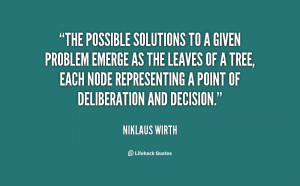 Quotes About Solutions