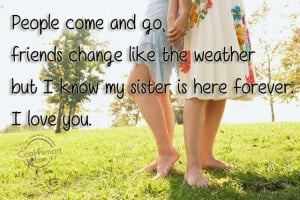 Sister Quotes and Sayings for sisters