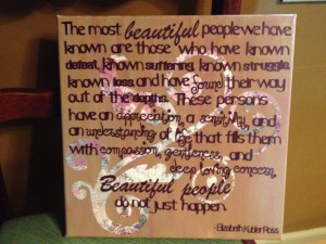 Beautiful People Quote Art. $21.00, via Etsy.
