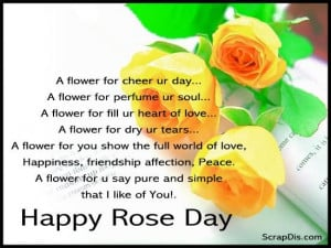 30+ Rose Day Quotes