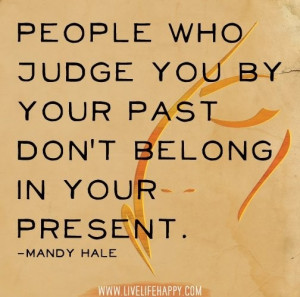 People who judge you