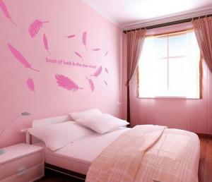 Teenage Bedroom Wall Quotes Tumblr Girls pink modern bedroom