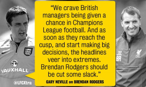 Gary Neville talking sense: 11 quotes in defence of a young British ...