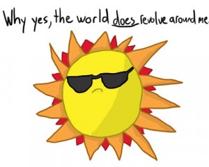 Funny photos funny sun wearing sunglasses