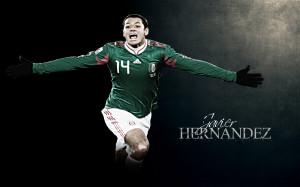 Chicharito Mexico Team World Cup 2014 Wallpaper HD