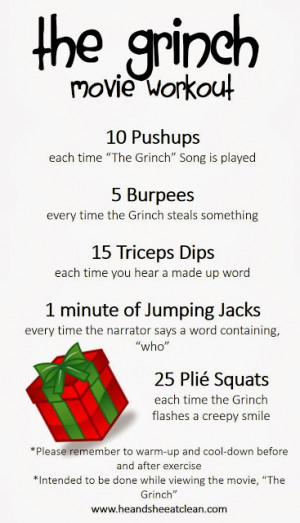Christmas Workout Quotes. QuotesGram