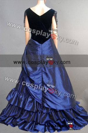 Stardust Yvaine Blue Gown Dress Costume-5