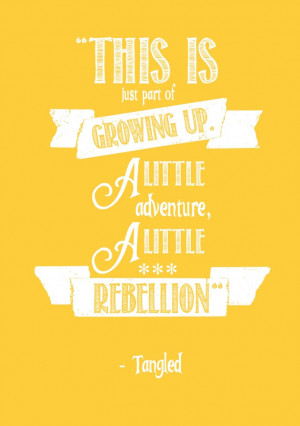 Disney Tangled Quotes Tangled