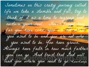 crazy journey called life as with any journey life love