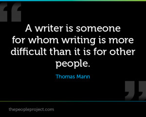 writing is a funny thing every writer i know has a different style ...