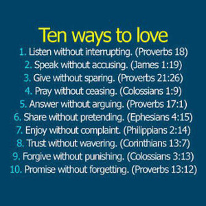 love bible quotes
