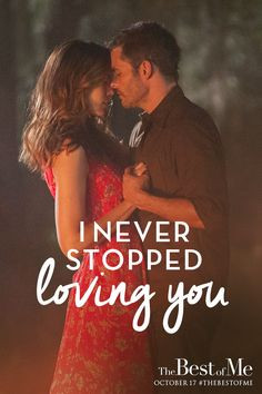 ... the story unfold in The Best of Me – in theaters October 17, 2014