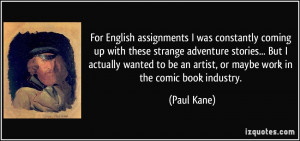 More Paul Kane Quotes