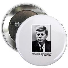 JFK Inaugural Quote Button