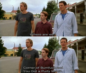 Without a Paddle-sums up Wilmington haha