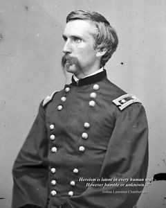 ... Civil War Photo: Col. Joshua Lawrence Chamberlain with Famous Quote