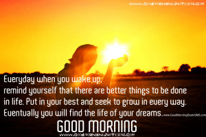 Thinking Quotes to start your day - Inspirational Good Morning Quotes ...