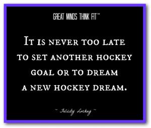 Hockey Team Quotes Inspirational