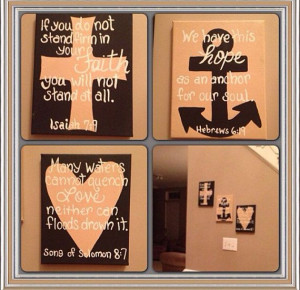 Bible Quote Canvas by CelinaMarieCreations on Etsy, $30.00