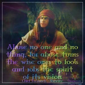 Famous Native American Quotes | Via Vicki Shelton Marsh