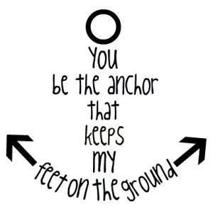 anchor, hipster, indie, quote, sea, vintage