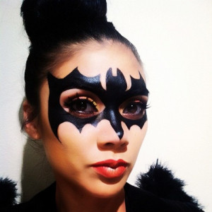Great Bat Girl makeup!