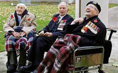 First World War veterans Henry Allingham (L), Harry Patch (C) and Bill ...