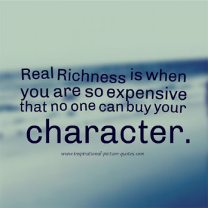 Good Character Picture Quote