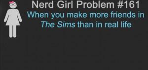 Nerd Girl Problems #161