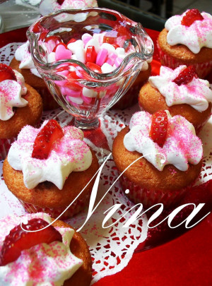 VALENTINES DAY CUPCAKES. Quote Cupcakes For Valentine's Day Recipes ...
