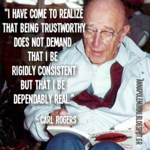 , authentic_self, Carl_Rogers, Self, person-centred, client-centred ...
