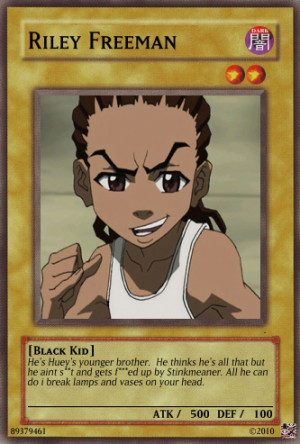 Riley Freeman card by urkel8534