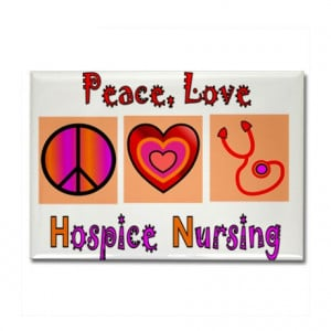 Hospice Gifts > Hospice Magnets > More Hospice Nursing Rectangle ...