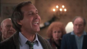 National Lampoon's Christmas Vacation - Clark asks for a special ...