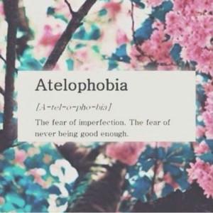 Atelophobia on We Heart It .