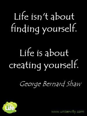 Life quote - George Bernard Shaw