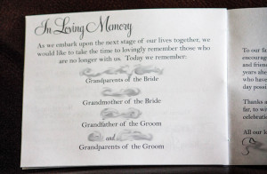 """Our memorial page says, """"As we embark upon the next stage of our ..."""