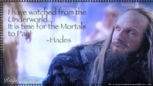 Hades / Ralph Fiennes - Quote 1 by SexiestJoker
