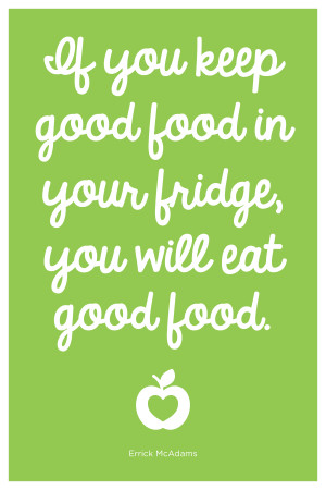 Healthy Food Quotes Healthy and happy life.