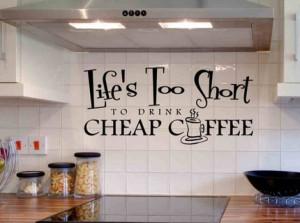 White ceramic kitchen wall quotes photo apartment interior design