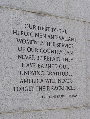 Famous Veterans Day Quotes And Sayings by president Harry S Truman