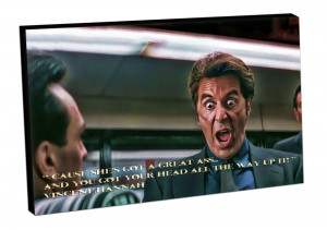Canvas-Picture-art-print-ready-to-hang-Al-Pacino-movie-quotes-HEAT